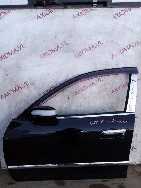Дверь Nissan Cima F50 VK45 2001 передняя левая