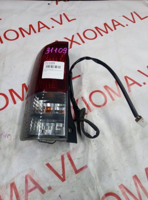 Стоп-сигнал Mitsubishi Ek Wagon H81W 3G83 2001 задний левый