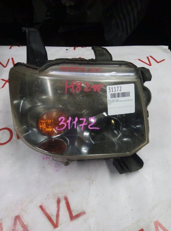 Фара Mitsubishi Toppo H82A 3G83 2008 передняя правая