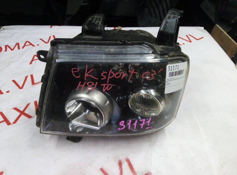 Фара Mitsubishi Ek Sport H81W 3G83 2002 передняя левая