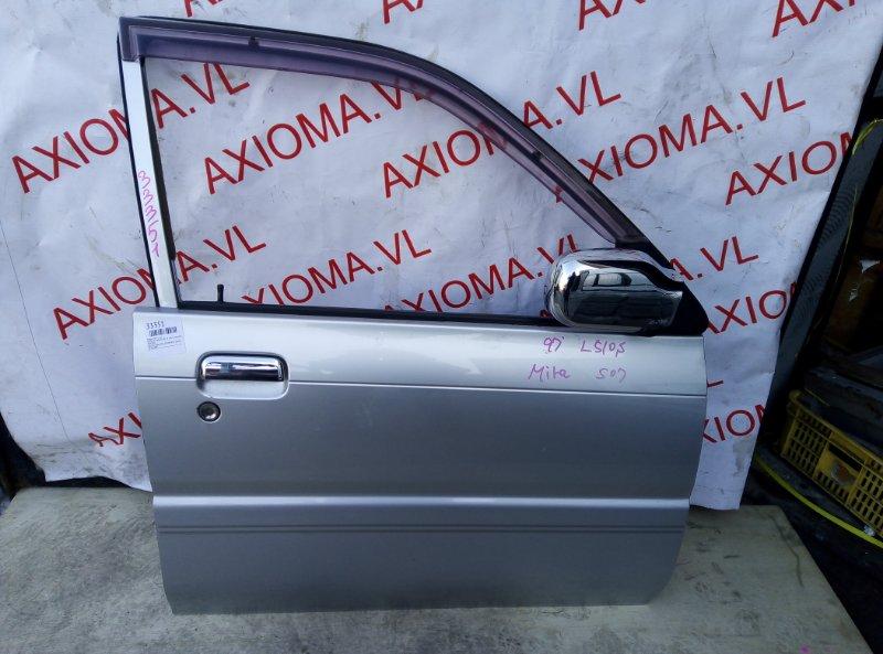 Дверь Daihatsu Mira L510S EF 1994 передняя правая