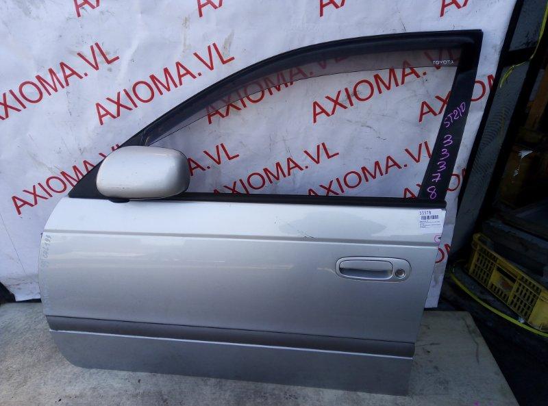 Дверь Toyota Caldina ST210 3S 1997 передняя левая