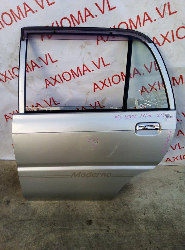 Дверь Daihatsu Mira L510S EF 1994 задняя левая
