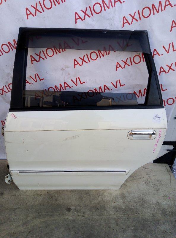 Дверь Honda Odyssey RA5 J30A 1997 задняя левая