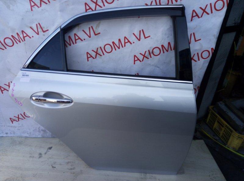 Дверь Toyota Mark X GRX120 4GR-FSE 2004 задняя правая