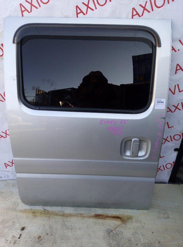 Дверь Suzuki Every DA62V K6A 1999 задняя правая