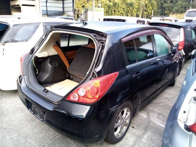 Дверь Nissan Tiida C11 HR15 2004 задняя правая