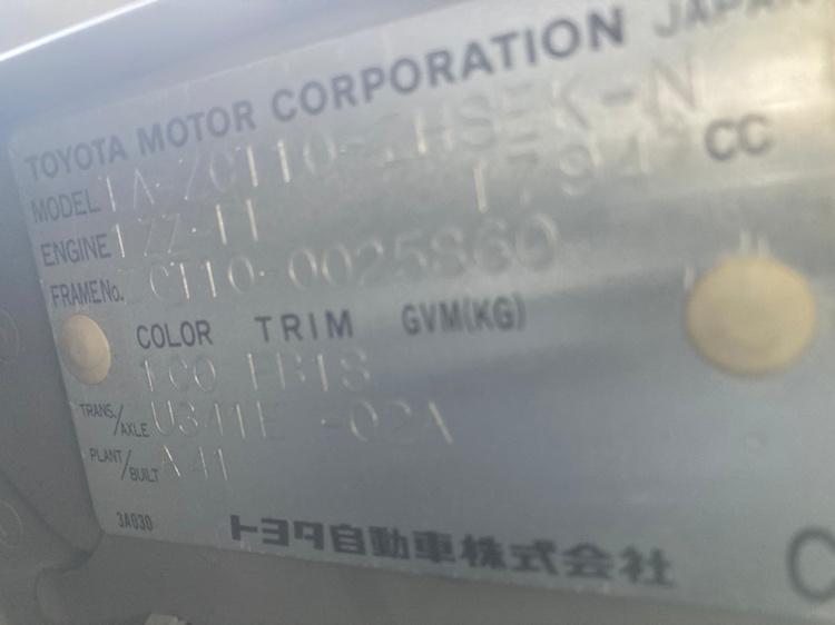 Дверь Toyota Opa ZCT10 1ZZ 2003 передняя правая