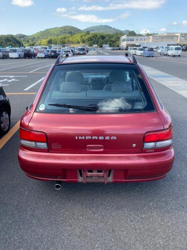 Бампер Subaru Impreza GF2 EJ15 1992 задний