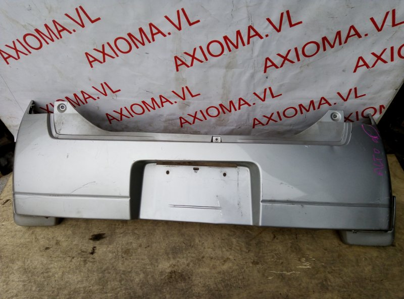 Бампер Suzuki Alto HA24S K6A 2004 задний