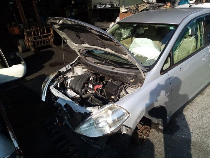 Капот Nissan Tiida C11 HR15 2004