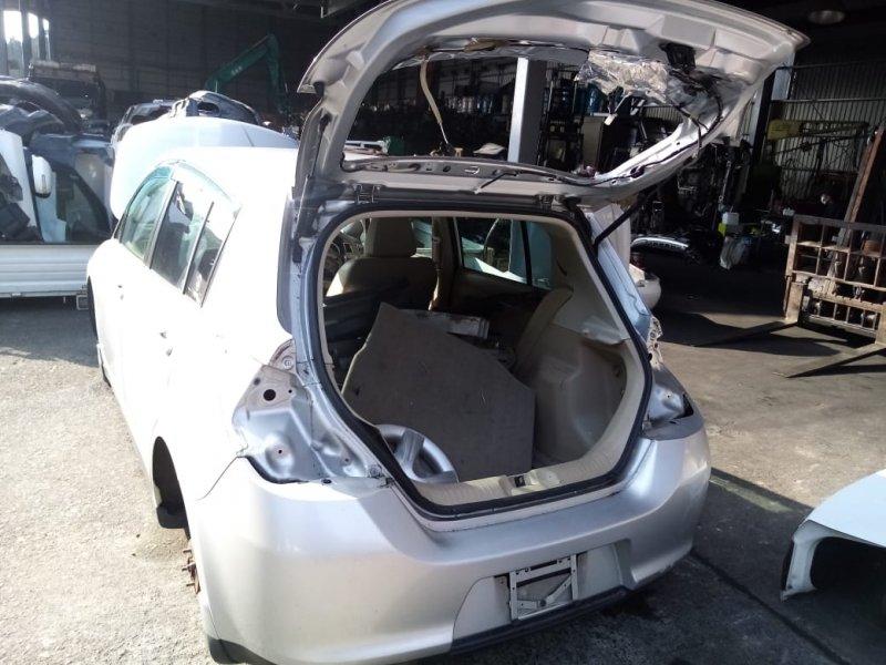 Бампер Nissan Tiida C11 HR15 2004 задний