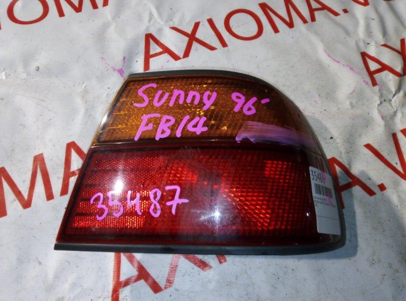 Стоп-сигнал Nissan Sunny B14 GA15 1993 задний правый