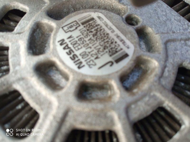 Генератор Nissan Tiida C11 HR15 2002