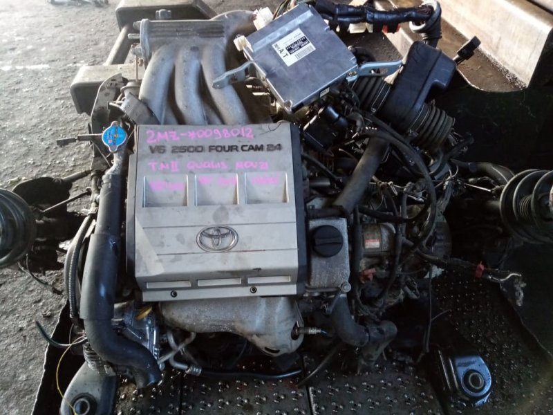 Двигатель Toyota Mark Ii Qualis MCV21 2MZ 1997