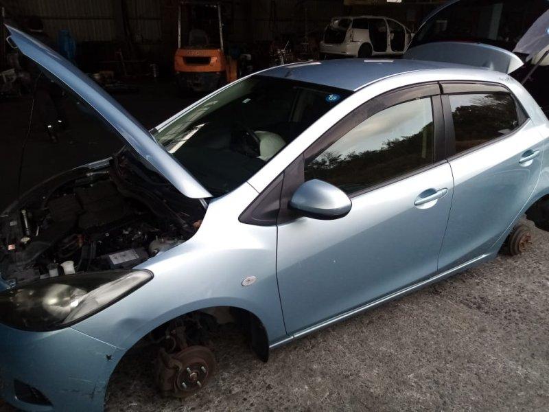 Дверь Mazda Demio DE3FS ZJ 2007 передняя левая