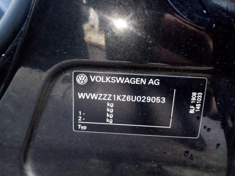 Крыло Volkswagen Golf 1K1 BLF 2003 переднее левое