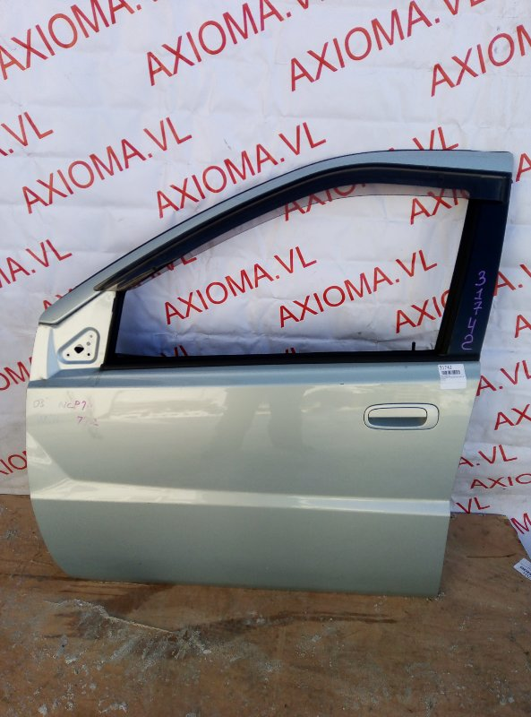 Дверь Toyota Will Cypha NCP70 1NZ 2002 передняя левая