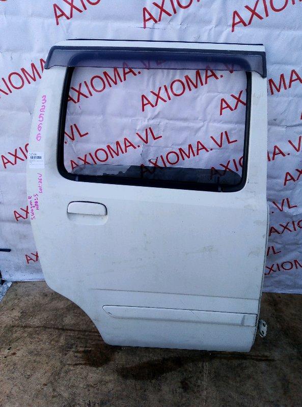 Дверь Suzuki Wagon R Plus MA63S K10A 1999 задняя правая