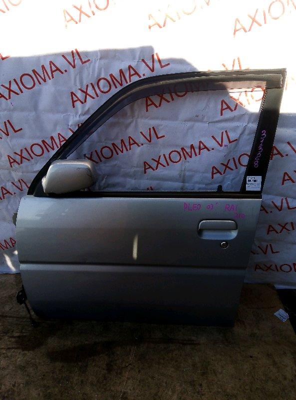 Дверь Subaru Pleo RA1 EN07 1998 передняя левая