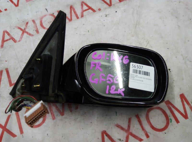 Зеркало Nissan Cima F50 VK45 2001 правое