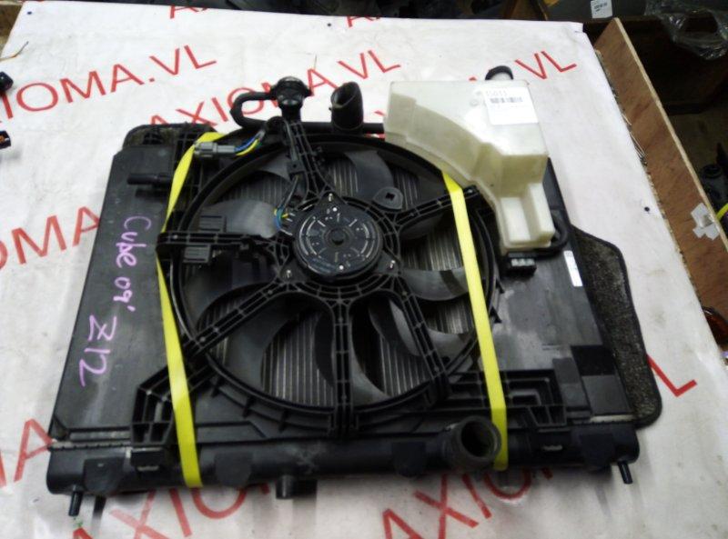 Радиатор двс Nissan Cube Z12 HR15DE 2004