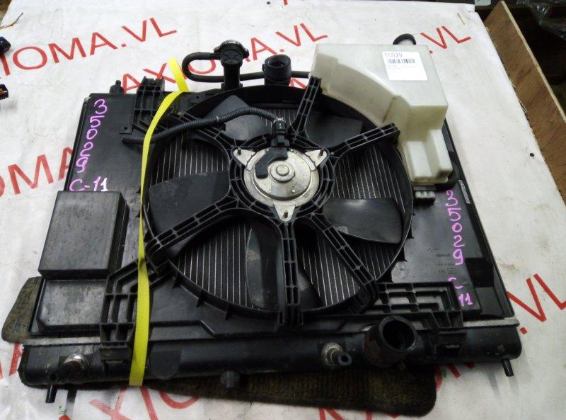 Радиатор двс Nissan Tiida C11 HR15 2002