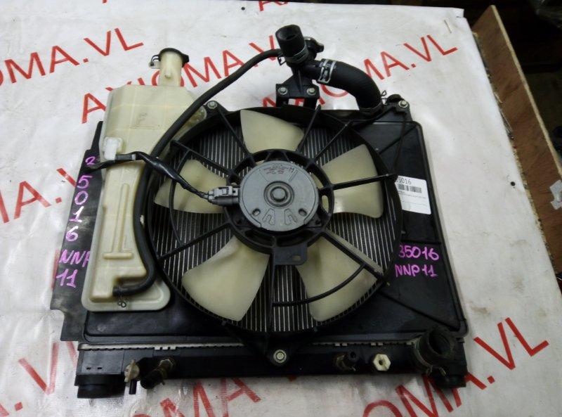 Радиатор двс Toyota Porte NNP11 1NZ-FE 2001