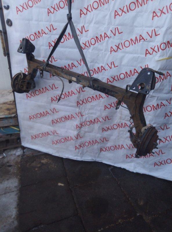 Балка подвески Mazda Demio DW3W B3 1996 задняя