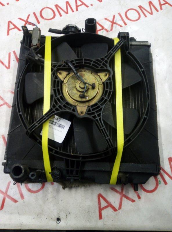 Радиатор двс Subaru Pleo RA1 EN07 1998