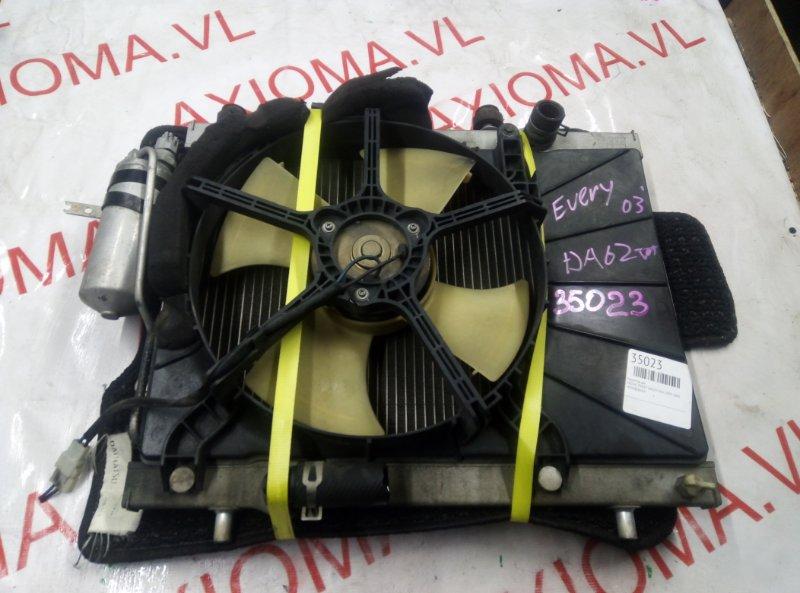 Радиатор двс Suzuki Every DA62V K6A 1999