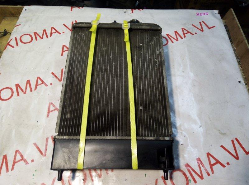 Радиатор двс Mitsubishi Ek Wagon H81W 3G83 2001