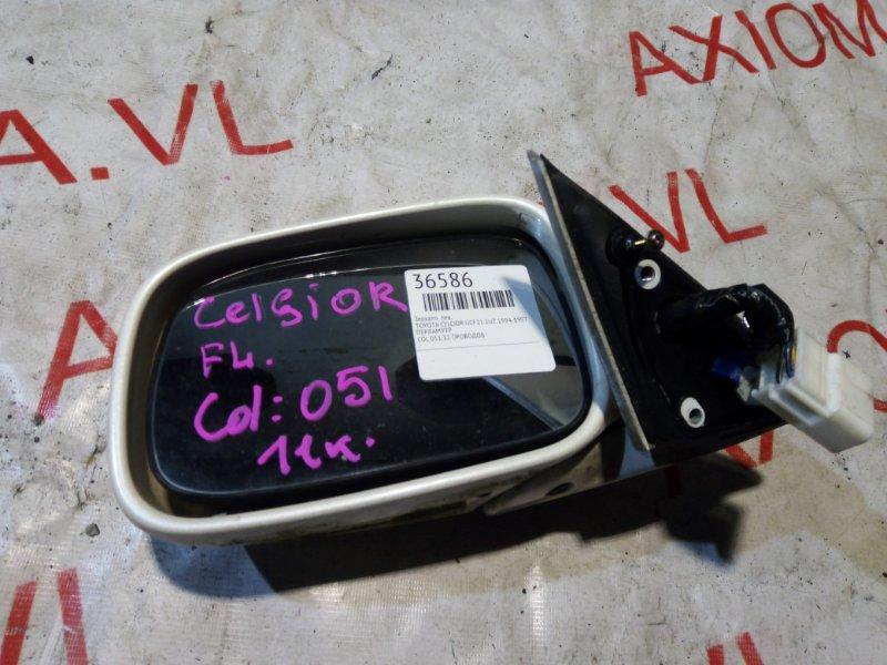 Зеркало Toyota Celcior UCF21 1UZ 1994 левое