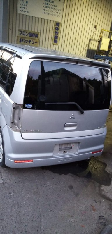 Бампер Mitsubishi Ek Sport H81W 3G83 2002 задний