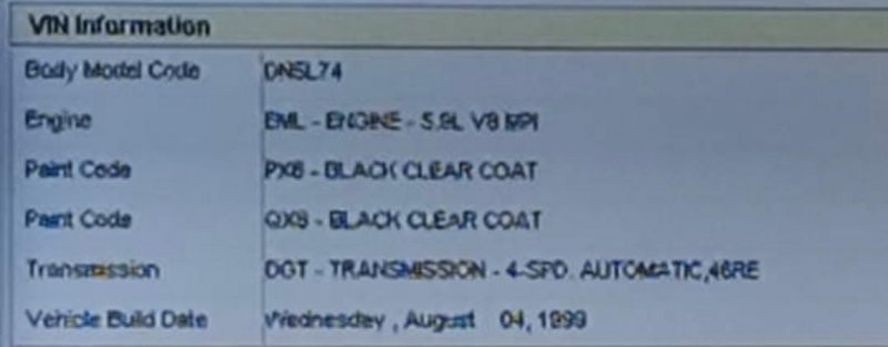 Мотор печки Dodge Durango 1B4HS28Z5YF108485 EML(MAGNUM V8) 1997