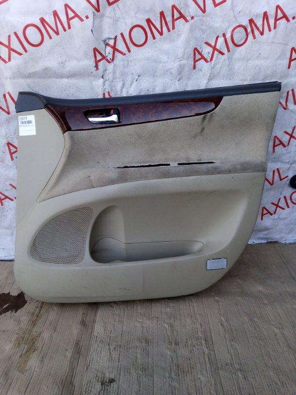 Обшивка дверей Toyota Ipsum ACM21 2AZ 2001 передняя правая