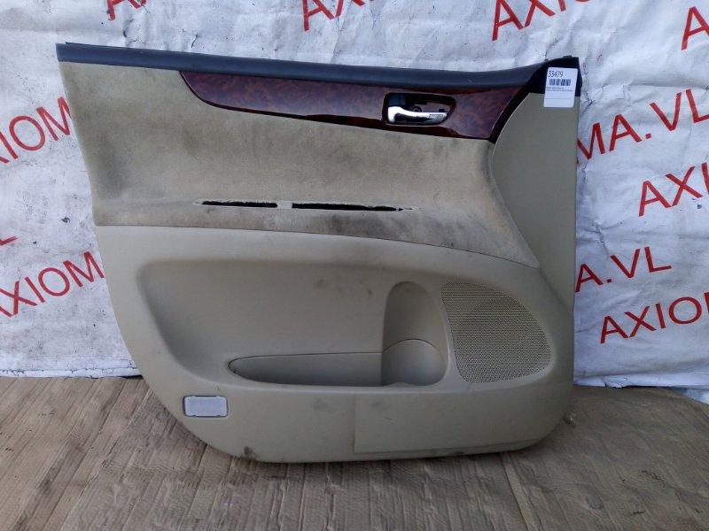 Обшивка дверей Toyota Ipsum ACM21 2AZ 2001 передняя левая