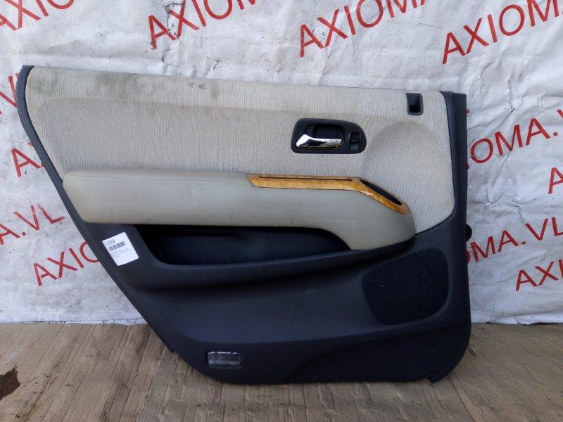 Обшивка дверей Honda Odyssey RA9 J30A 1999 задняя левая