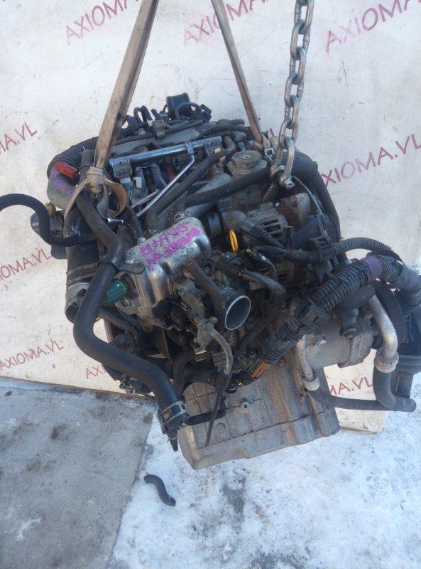 Двигатель Suzuki Every DA64W K6A-T 2005