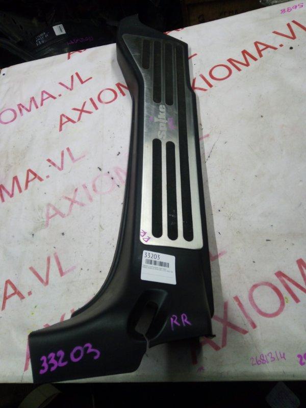 Порожек пластиковый Honda Mobilio Spike GK1 L15A 2002 задний правый