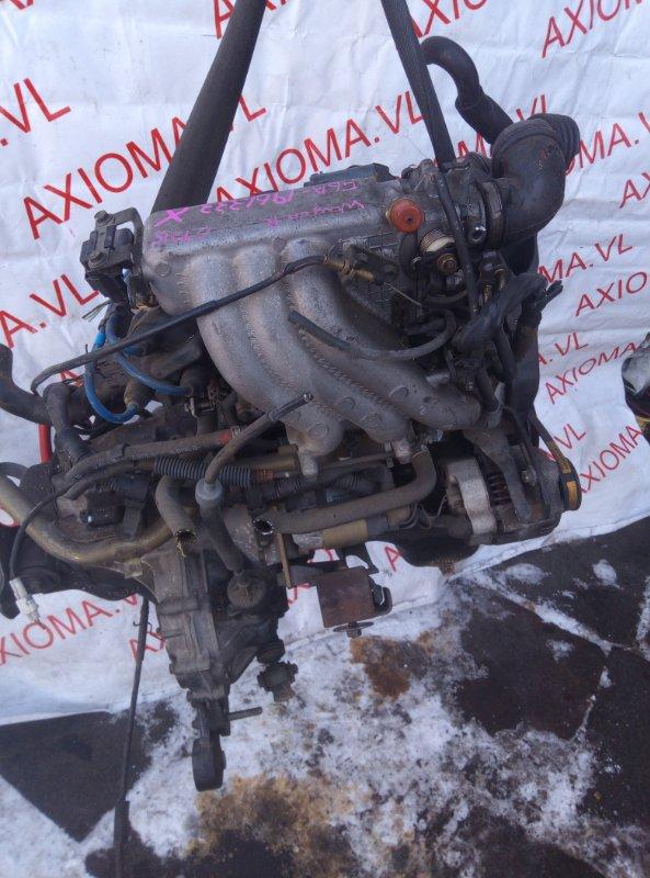 Двигатель Suzuki Wagon R CT21S F6A 1993