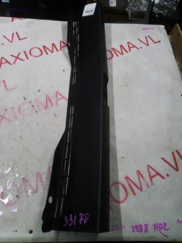 Накладка замка багажника Mitsubishi Colt Z21A 4A90 2002