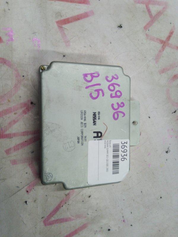 Блок efi Nissan Sunny B15 QG15DE 2002