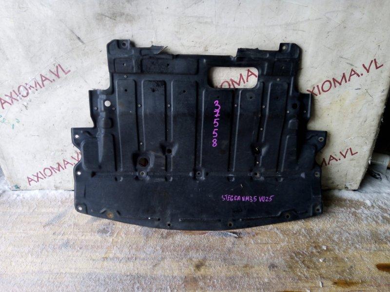 Защита двигателя Nissan Stagea M35 VQ25 2001