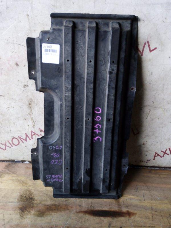 Защита двигателя Nissan Caravan E25 ZD30 2001 передняя