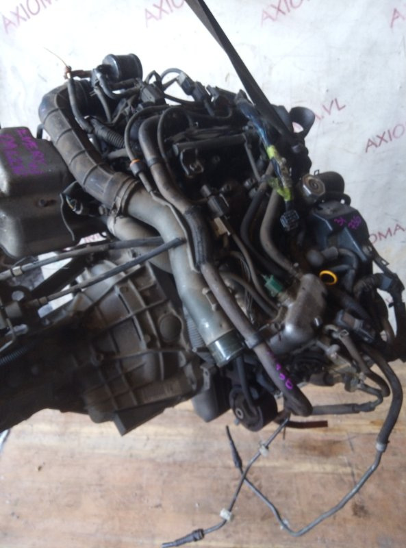 Двигатель Suzuki Every DA62W K6A-T 1999