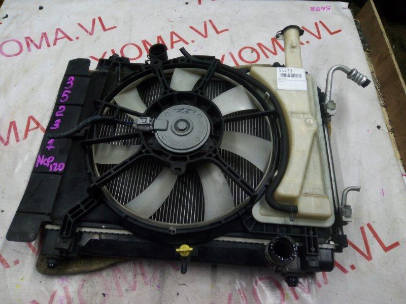 Радиатор двс Toyota Ractis NCP120 1NZ 2010
