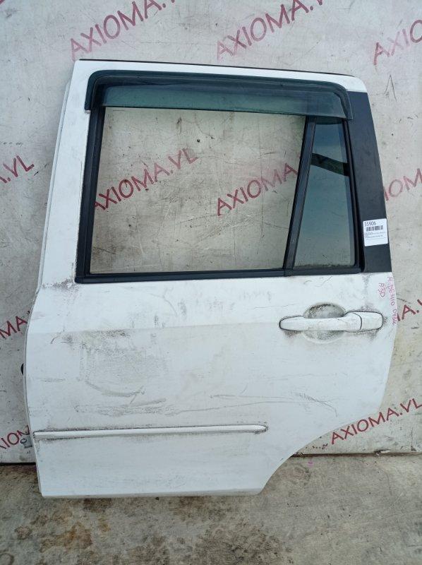 Дверь Mazda Demio DY3W ZJ 2002 задняя левая