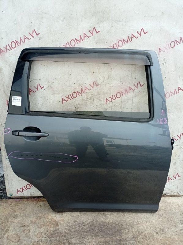 Дверь Toyota Wish ZNE10 1ZZ 2003 задняя правая