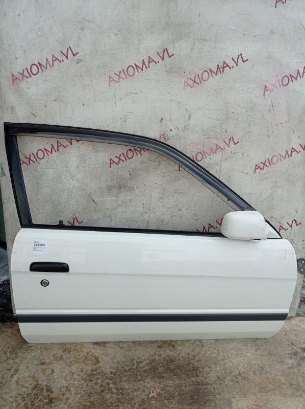 Дверь Toyota Corolla Ii EL51 4E 1994 передняя правая